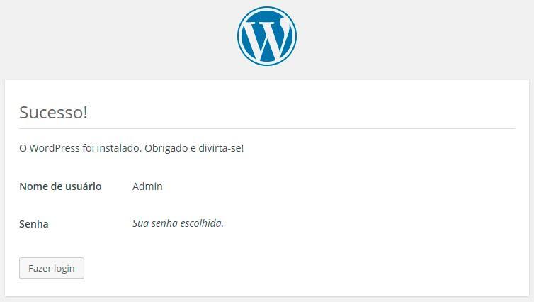 tela-de-sucesso-na-instalacao-do-wordpress
